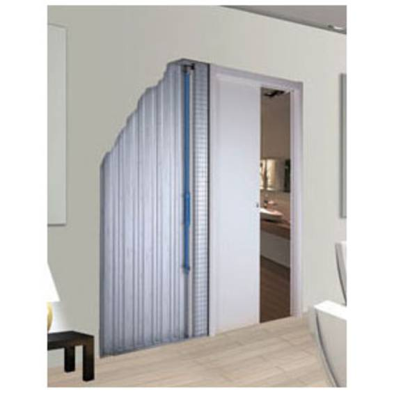 Kit Dinamico - the innovative pneumatic system for slow sliding door closure