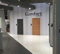 Comfort sliding and swing doors - Scrigno at Batimat 2017