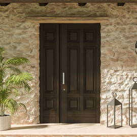 Gradara security door, the two-door solution