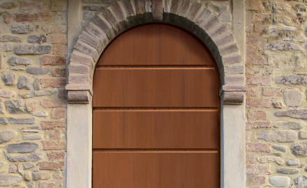 Olvera classic arch-shaped armoured door