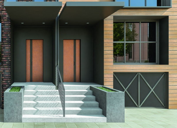 Scrigno modern security doors