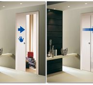 Scrigno Slow for close gradually and silently sliding door