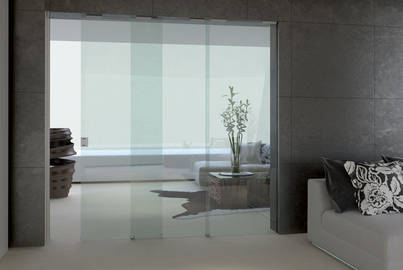 Porta Scorrevole 3 Ante.Glass Sliding Doors Essential Trial